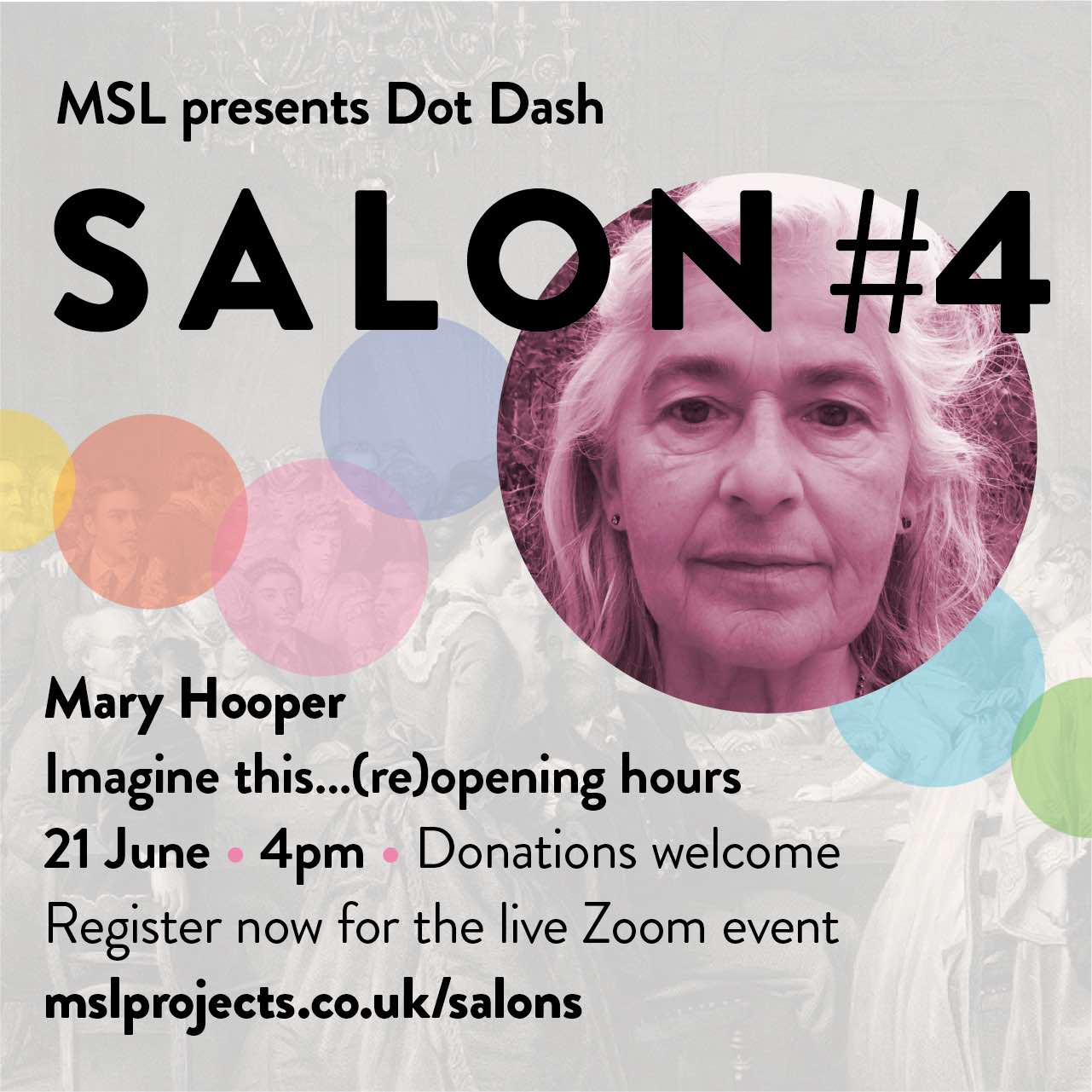 Salon 4 Imagine this... (re)opening hours 21 June 4pm for MSL Projects