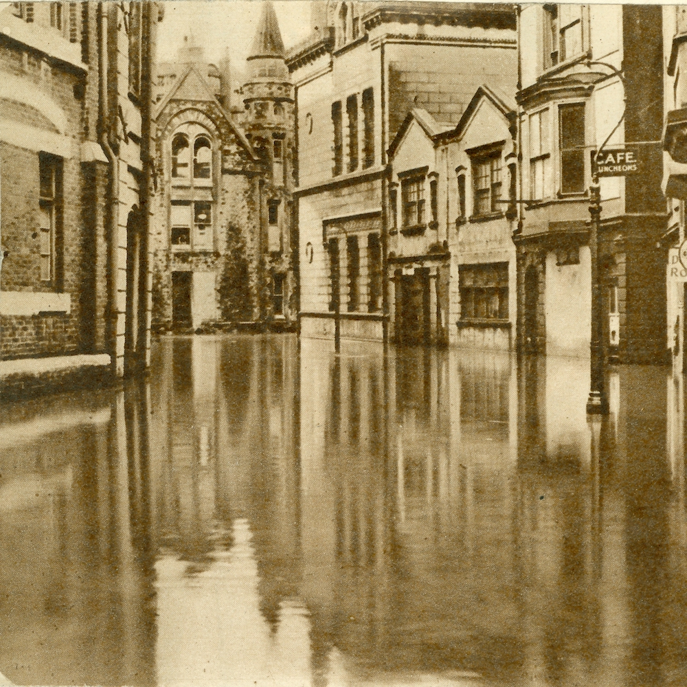 17th July 1947 Flooding in Middle St Hastings for MSL Discovery Day