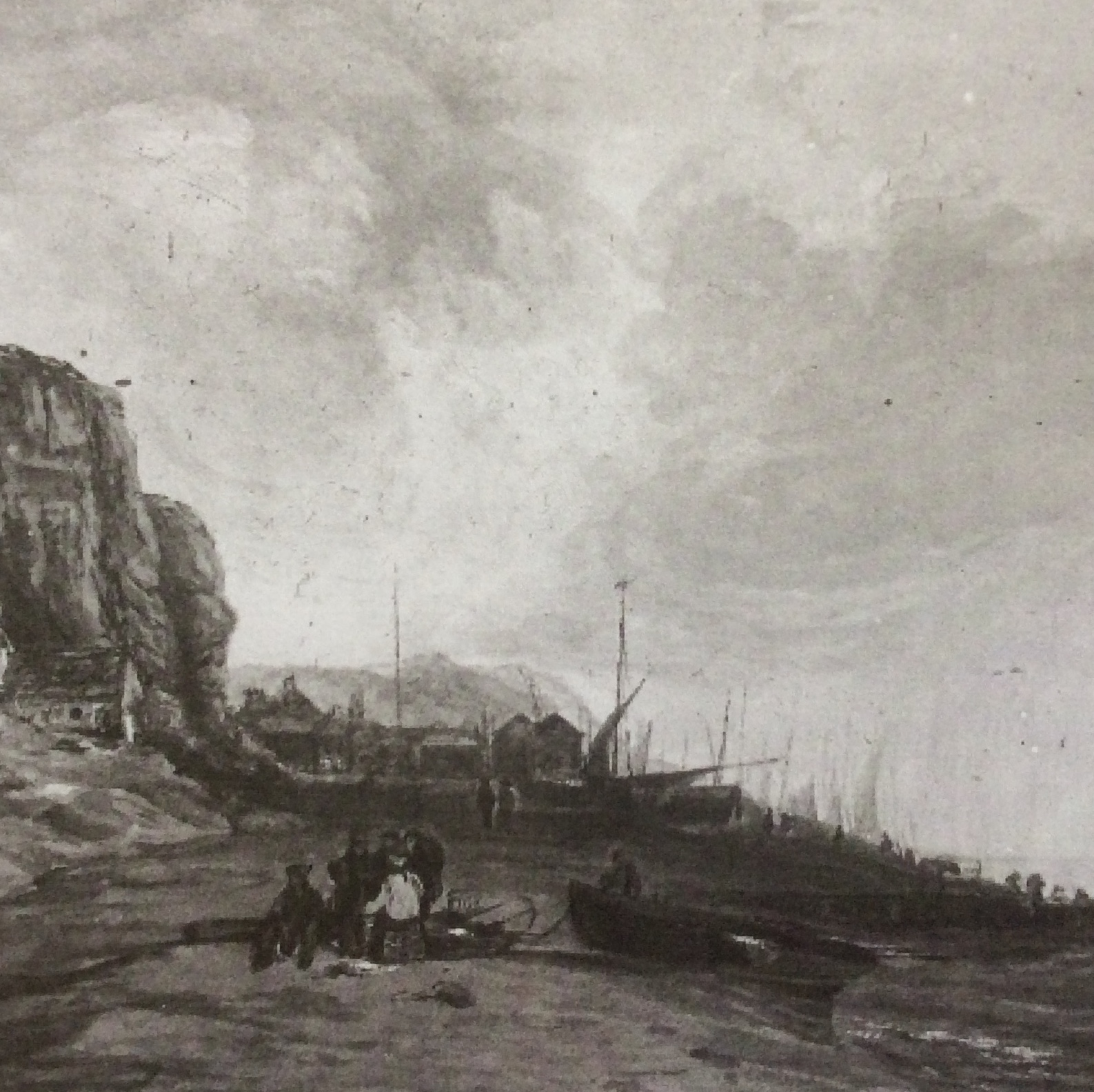 Boats at Hastings c.1800 ESLIS for MSL Discovery Day