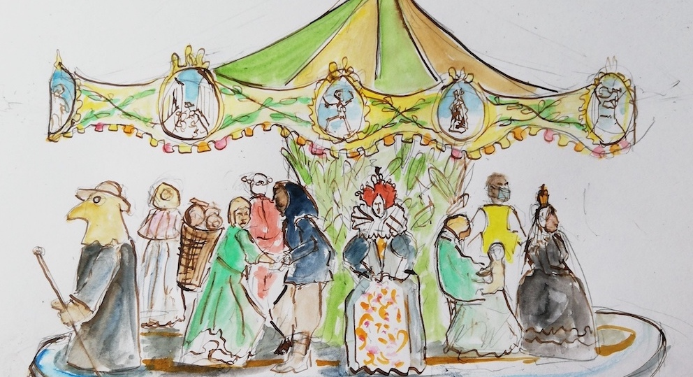 Carousel illustration by Jane Bruce on MSL's Support Us